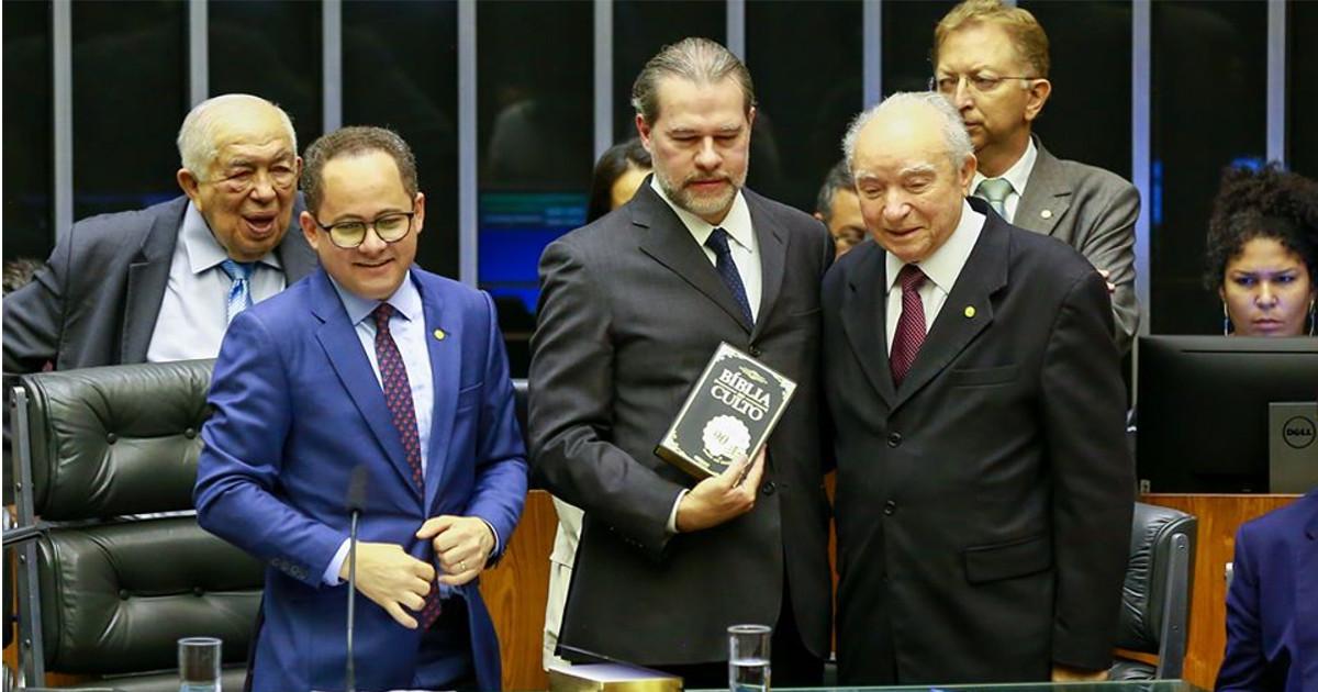 Senado comemora 90 anos da Assembleia de Deus Ministério Madureira — © Reprodução