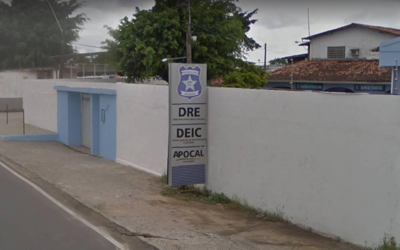 A Divisão Especial de Investigação e Captura (Deic), que fez a prisão, não divulgou se trata-se de feminicídio — © Reprodução/Google