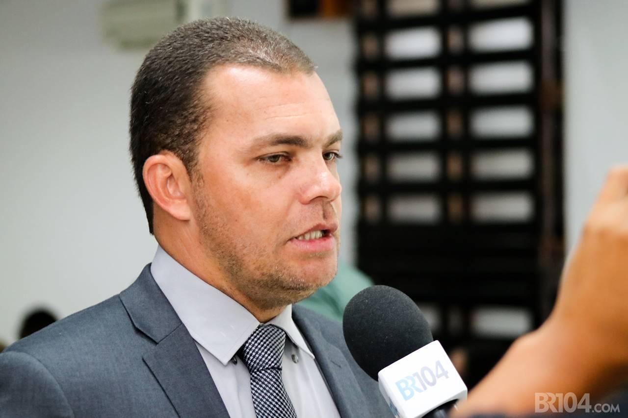 Anderson Austregesilo de Atayde Silva (Anderson da Igreja), eleito com 1243 votos — © Alyson Santos/BR104