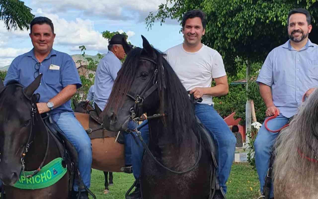 Areski freitas, Isnaldo Bulhões e Paulo Dantas
