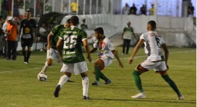 CEO e Murici pela Copa Alagoas 2020 — © : Jailson Colácio