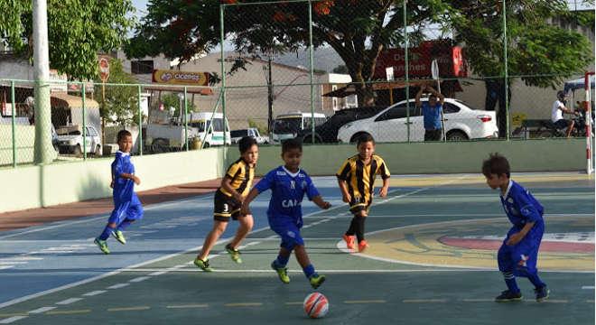 Copa Zumbi Kids de Futebol — © Reprodução