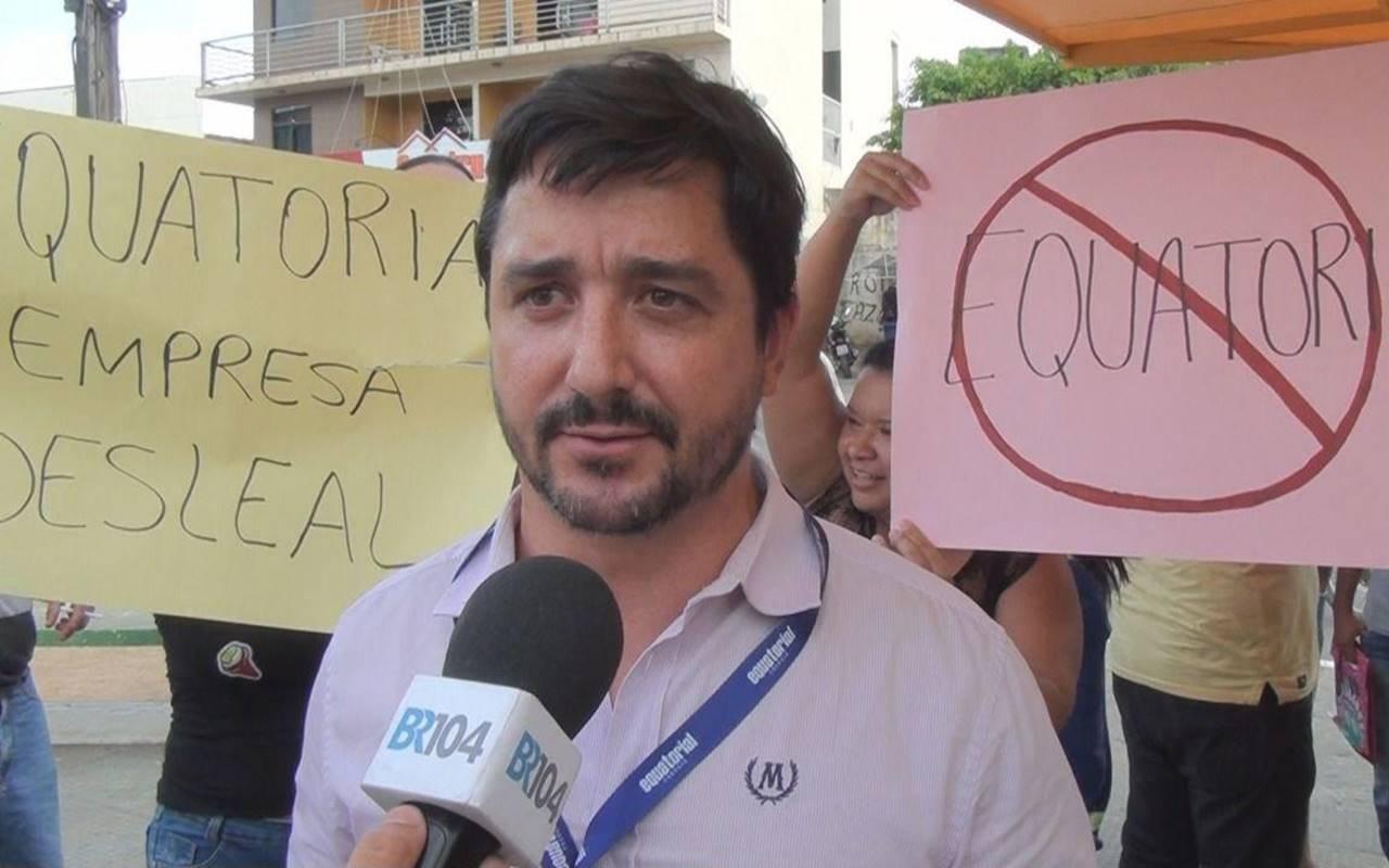 Executivo de Relações Institucionais, Sérgio Miranda — © BR104
