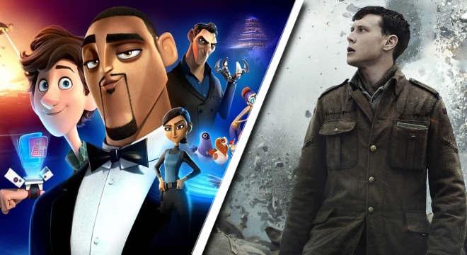 Lançamentos de filmes que foram destaques na semana — © Reprodução