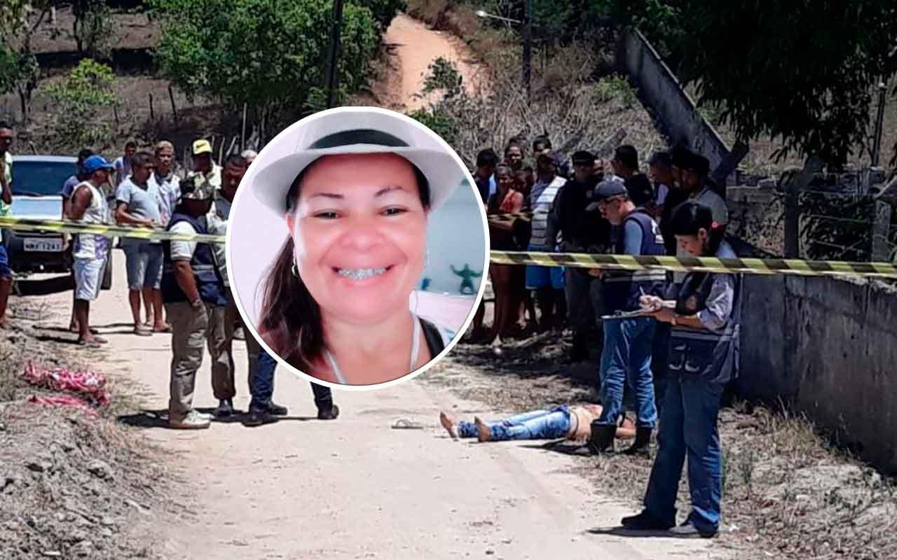 Maria Josy Pereira foi encontrada decapitada em União dos Palmares — © BR104/Cortesia