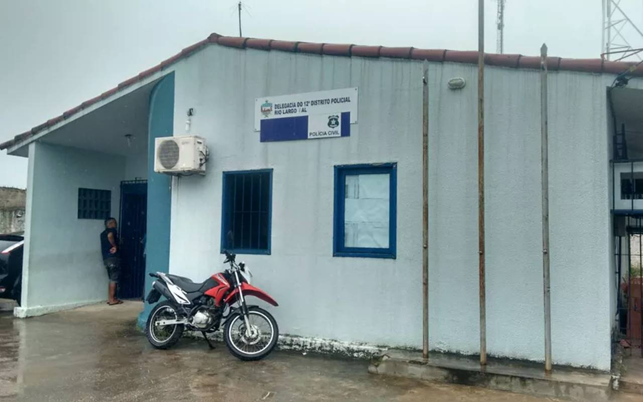 O preso foi encaminhado para delegacia de Rio Largo — © G1/AL