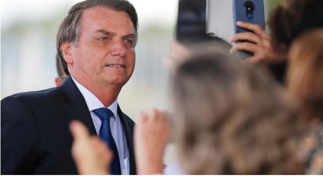 Presidente Jair Bolsonaro — © Reprodução
