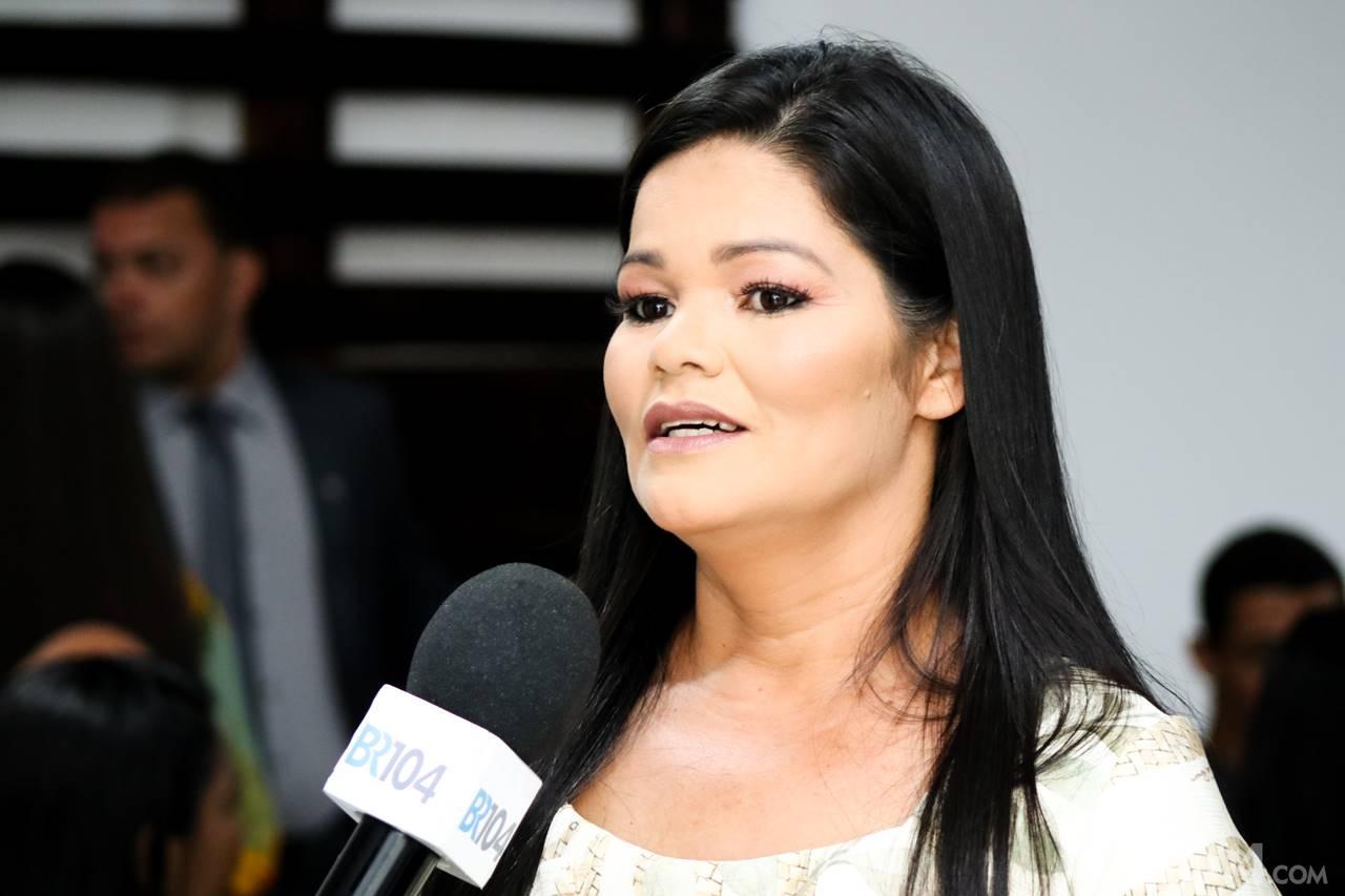 Rosilene Maria da Silva (Professora Rosa), eleito com 1247 — © Alyson Santos/BR104