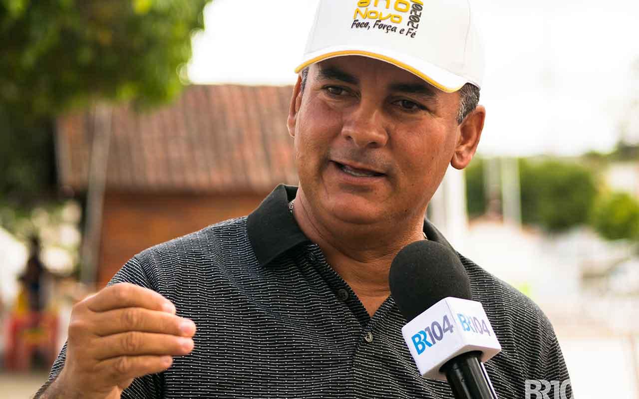 Diretor de Esportes Valdão Dativo — © Alyson Santos