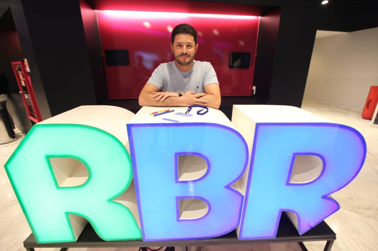 Alexandre Lima na sede do RenovaBR