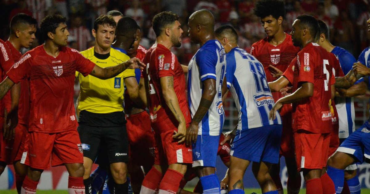 CRB e CSA pela Copa do Nordeste — © Reprodução