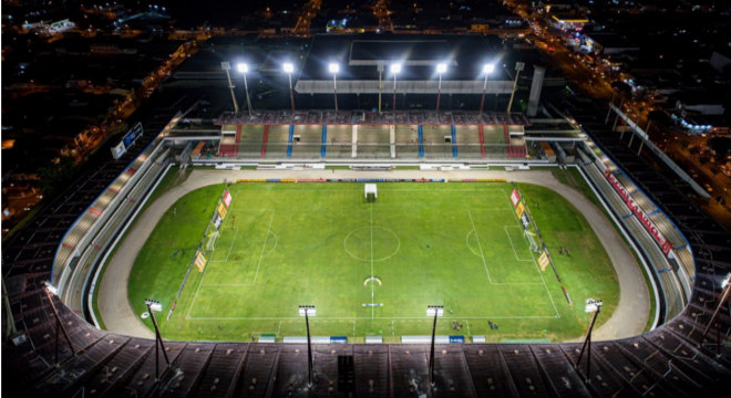 Estádio Rei Pelé — © Aldo Correa