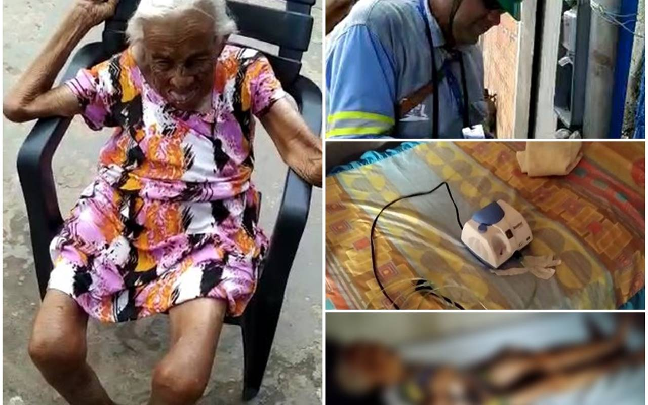 Idosa morre no Maranhão após não receber nebulização devido ao corte de energia — © Reprodução
