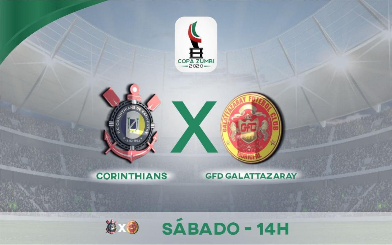 GFD Galattazaray x Corinthians se enfrentam pela 2ª fase da Copa Zumbi — © Alyson Santos