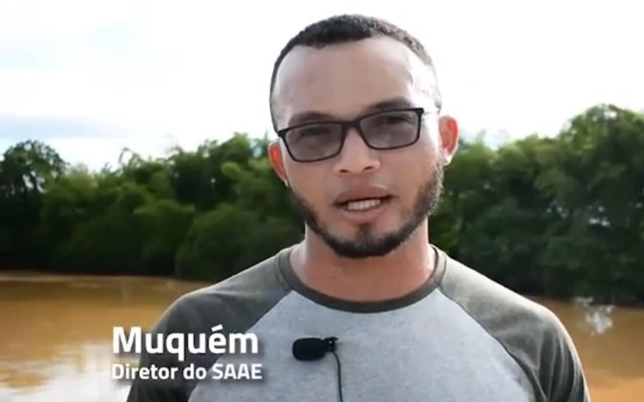 Diretor do SAAE União, Célio Pereira — © Reprodução