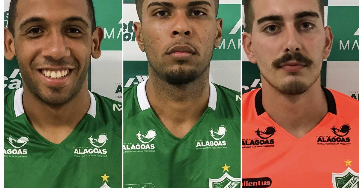 Novos contratos do Murici para sequência do Campeonato Alagoano — © Reprodução
