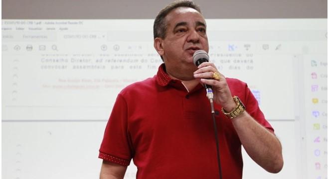 Presidente do CRB Marcos Barbosa — © Douglas Araújo