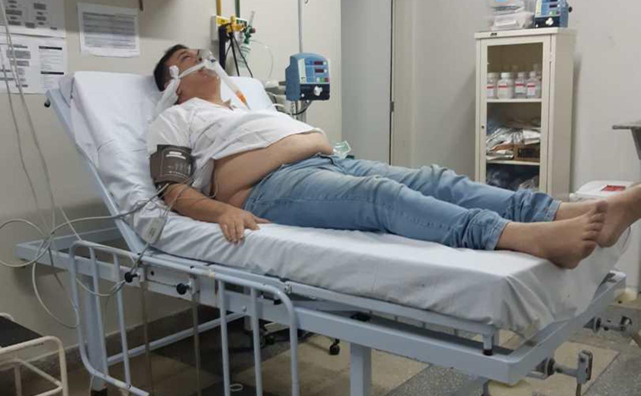 Sandro Becker internado após infarto - @reprodução
