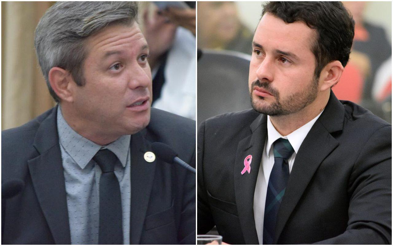 Deputados Cabo Bebeto e Bruno Toledo
