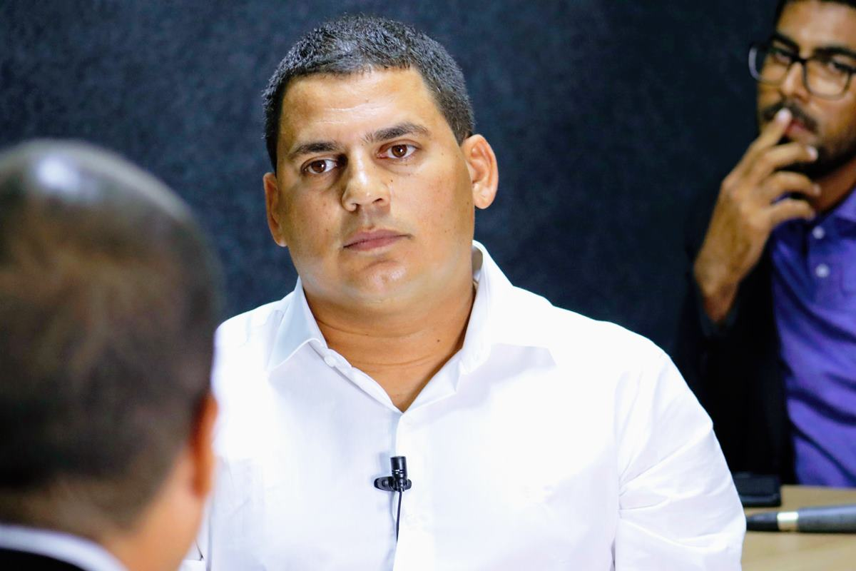 Vereador Caju em entrevista ao BR Entrevistas