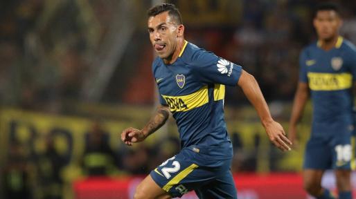 Carlito Tévez atacante do Boca Juniors — © Reprodução