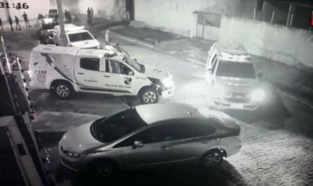 Imagens da ação policial — © Reprodução