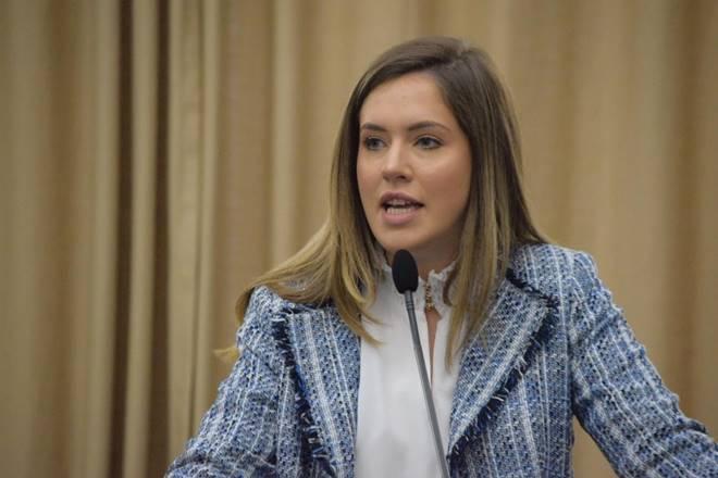 Deputada estadual Cibele Moura - @reprodução