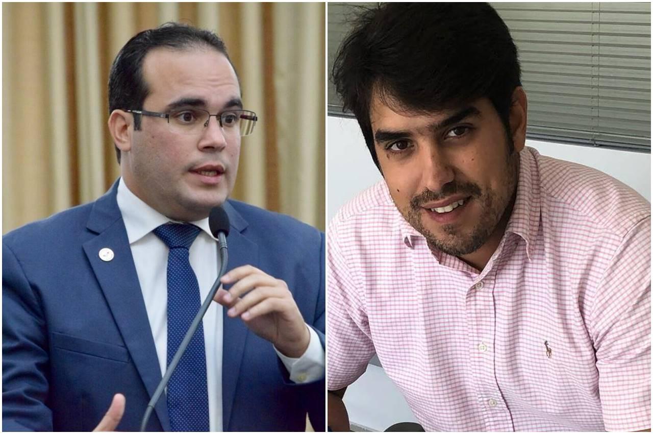 Deputado Davi Maia e prefeito Jairinho Maia