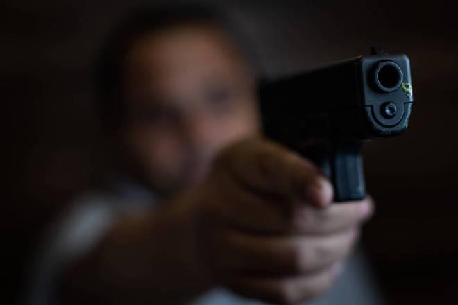 Homem armado - @reprodução