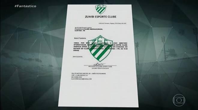 Logo do Zumbi Esporte Clube - @reprodução