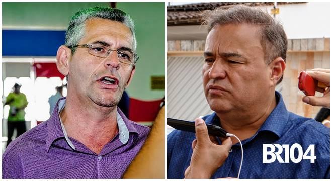 Prefeito Geo Cruz e ex-deputado João Caldas