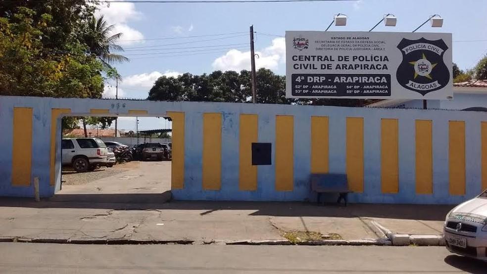 Central da Polícia Civil de Arapiraca — © Ascom