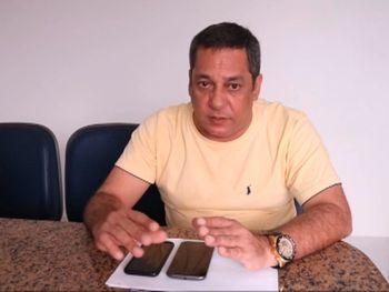 Presidente do Sindapen/AL Petrônio Lima — © Reprodução