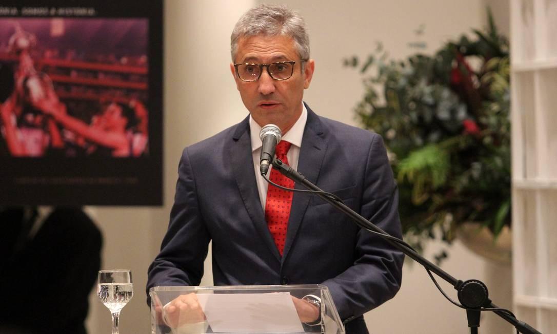 Alexandre Campello presidente do vasco da Gama — © Reprodução