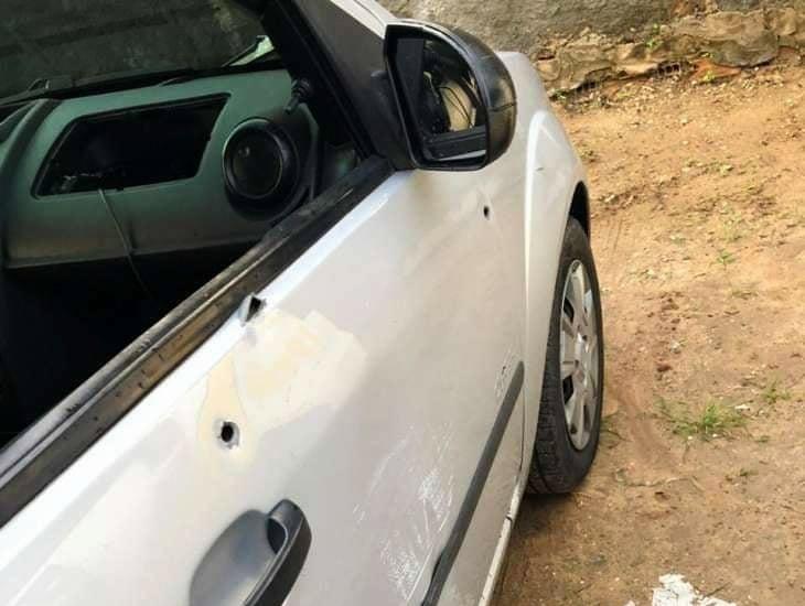 Veículo utilizado na fuga do suspeito — © Reprodução
