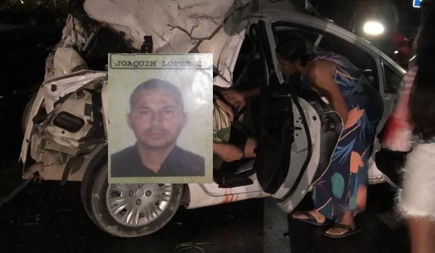 Acidente grave na BR-104 em Branquinha - @Cortesia