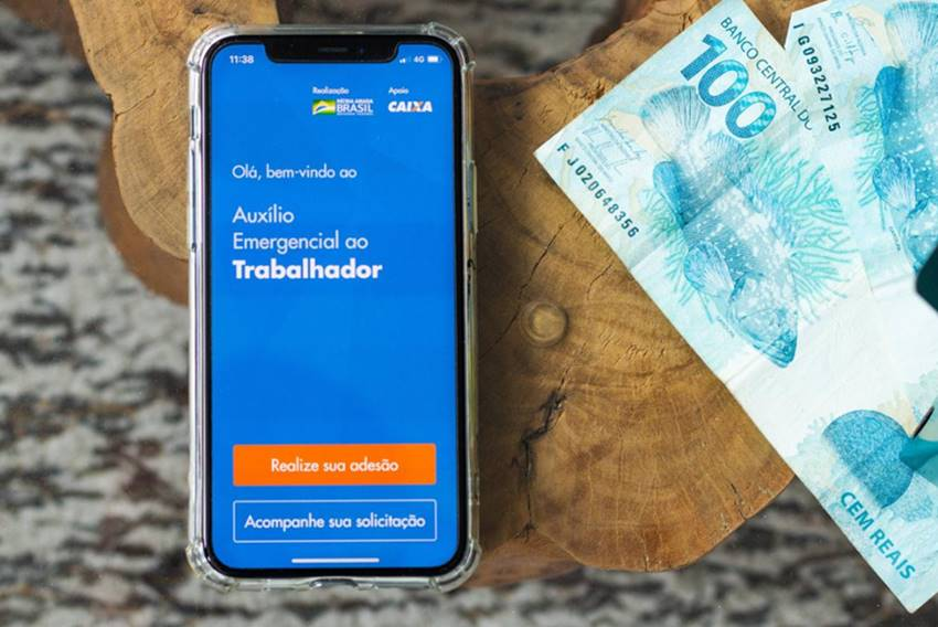 Auxilio emergencial de R$600 - © Divulgação