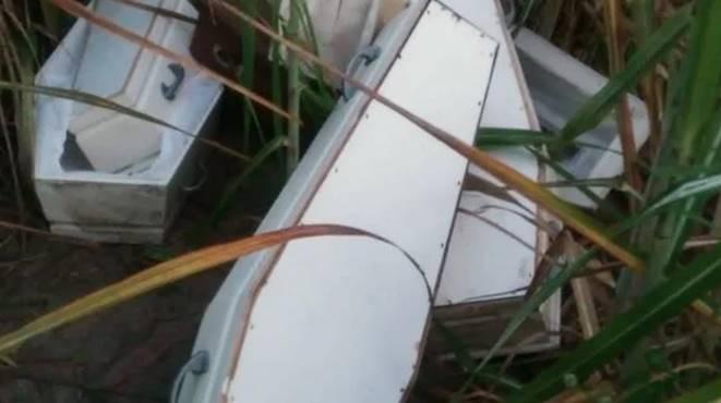 Caixões encontrados em Alagoas