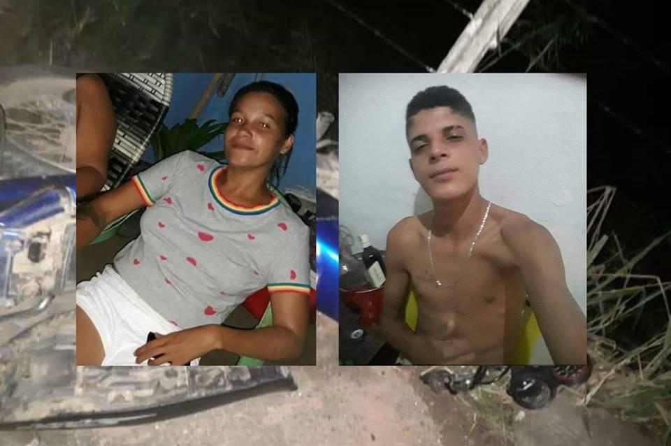 Casal morreu em acidente de moto em São José da Laje - @reprodução