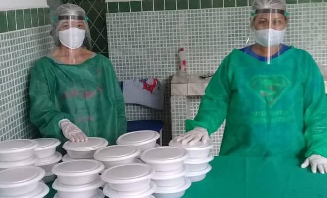 Distribuição de merendas nas escolas publicas em União dos Palmares