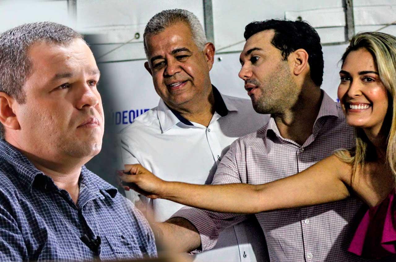 Sargento Nininho, vice prefeito Dr. Junior, Prefeito Rodrigo Valença e Dr.a Angela Wanessa