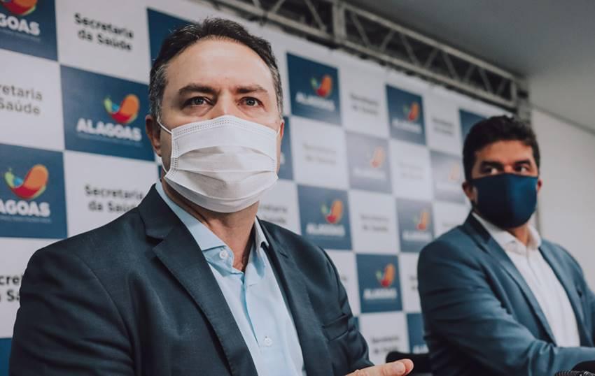 Governador Renan Filho e o prefeito de Maceió, Rui Palmeira - Divulgação