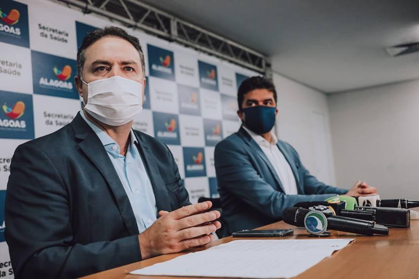 Governador Renan Filho e prefeito Rui Palmeira