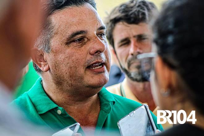 Prefeito Areski Freitas e Junior Menezes - @BR104