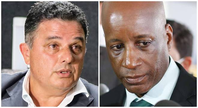 Prefeito Areski Freitas e Sérgio Camargo
