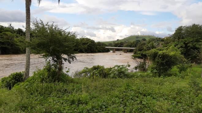 Rio Mundaú em União dos Palmares — © Reprodução