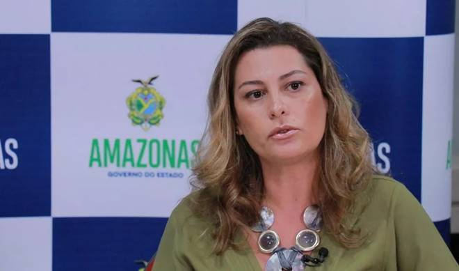 Simone Papaiz, secretária de Saúde do Amazonas - Divulgação