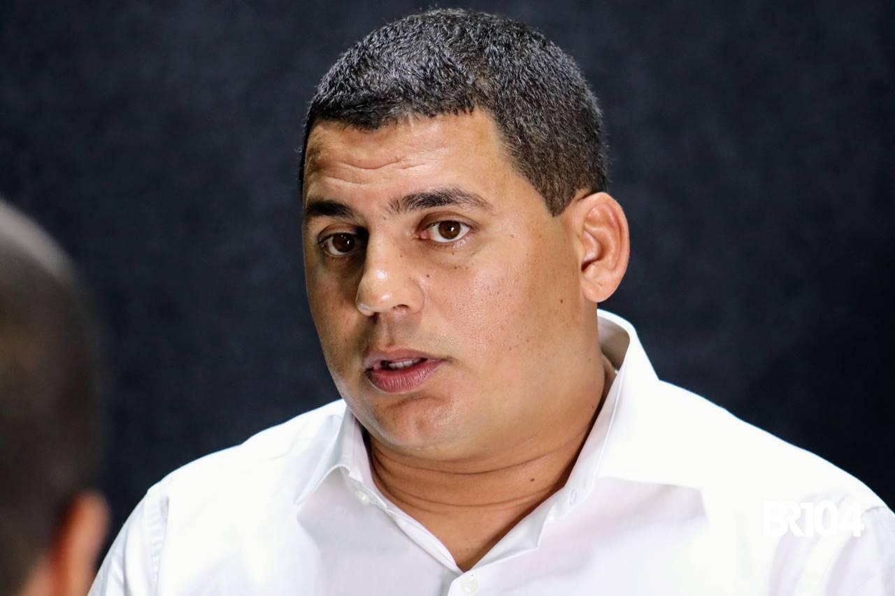 Vereador Caju, durante participação no BR Entrevistas