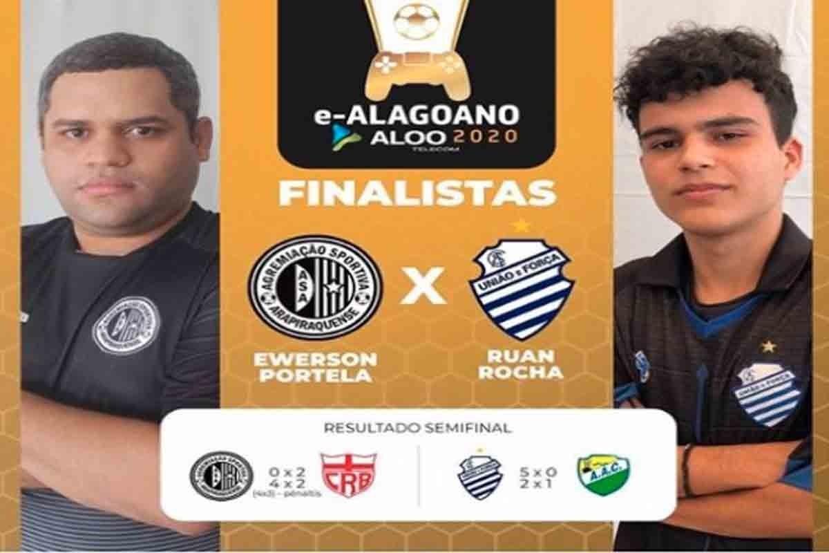 ASA x CSA fazem a grande final do e-Alagoano — © Ascom/FAF