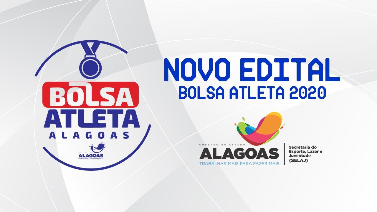 Selaj lança edital para programa Bolsa Atleta 2020 — © Ascom/Selaj